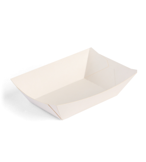 Food Tray - White