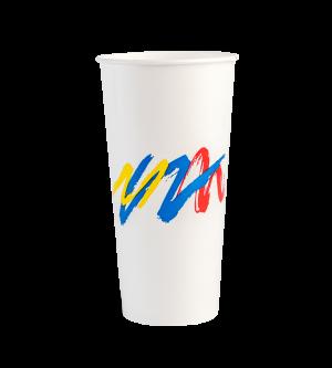 Paper Cold Cups Carnivale 12oz