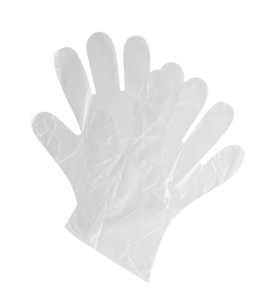 Poly Gloves - Clear