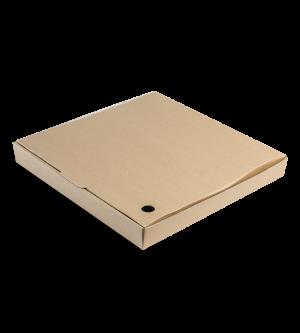 Regular-Fold Pizza Box - Brown
