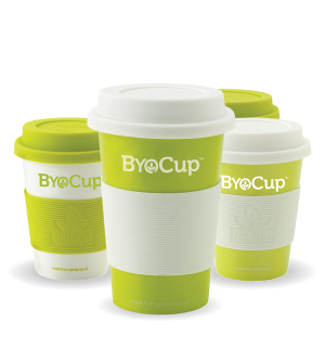 BYOCup Reusable Cup and Lid