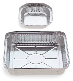 Foil Containers - Square