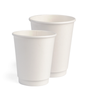 Double Wall White Cups