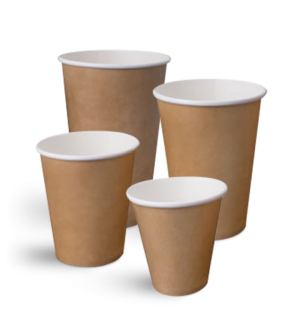 Kraft Single Wall Cups