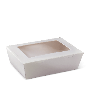 Window Lunch Boxes - White