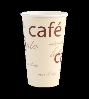 16oz Single Wall White Cup
