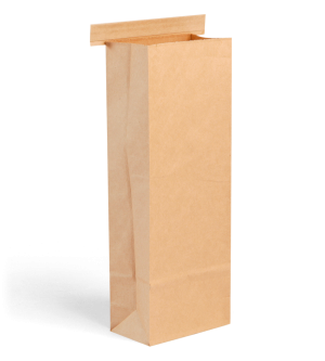 Kraft Retail Bag with Tin-Tie