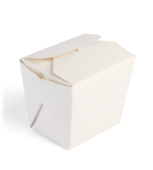 White Paper Noodle Box