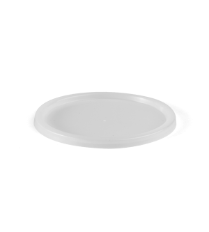 Clear Plastic Freezer Grade Round Container Lid