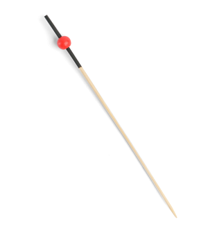 Bamboo Red Bead Pick