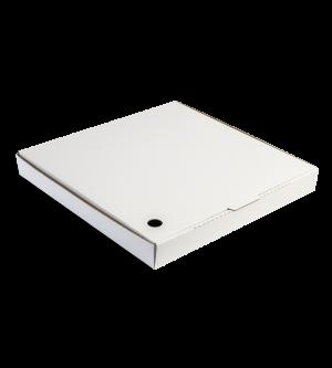 Regular-Fold Pizza Box - White