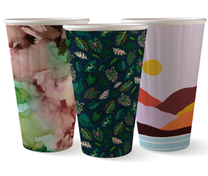 16oz Double Wall Art Series BioCup