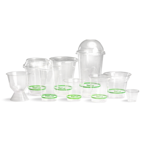 BioPak Clear Cups and Lids