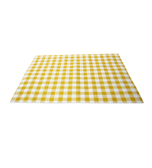 Greaseproof Paper Yellow Check