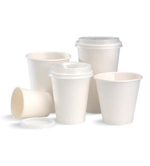Single Wall White BioCup