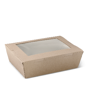 Window Lunch Boxes - Brown